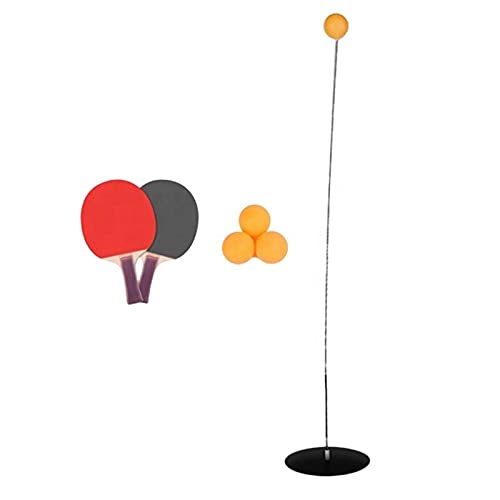 Pindia Table Tennis Portable Training Equipment Kit with 2 Racket & 4 Ball for Kids Adult & Beginners