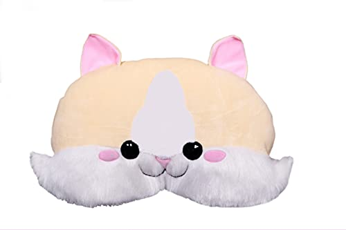 KHANAHK Cute Cat Pillow Soft Toy, Birthday Gift for Kids, Girls/Ladies, Pets, Baby Gift idea, Anniversary/Valentine's Gift for Girls (Head Pillow, Show Pillow)