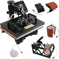 5 in 1 Sublimation Heavy Duty Machine