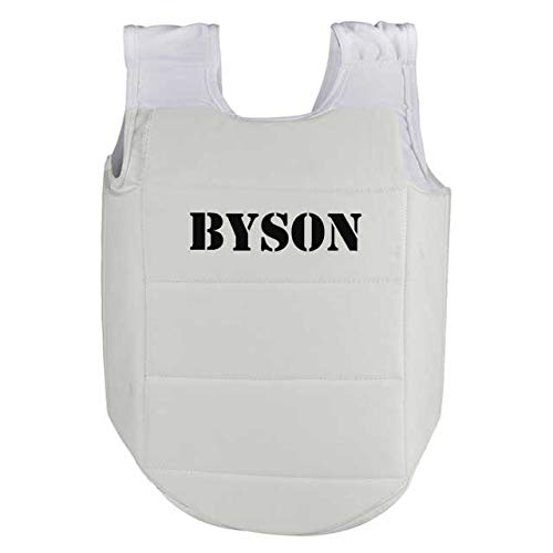 Byson Standard Karate Chest Guard (One Size Fits All)