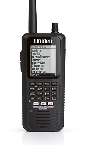 Uniden BCD436HP Handheld Digital Scanner with HPDB and Phase 2