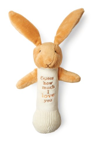 Guess How Much I Love You Nutbrown Hare Stick Rattle
