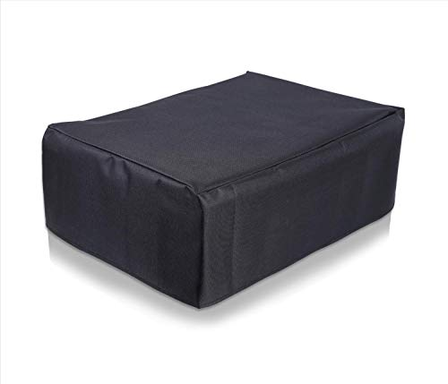 Alifiya Nylon Printer Cover for Brother DCP-T820DW All-in One Ink Tank Color - Black