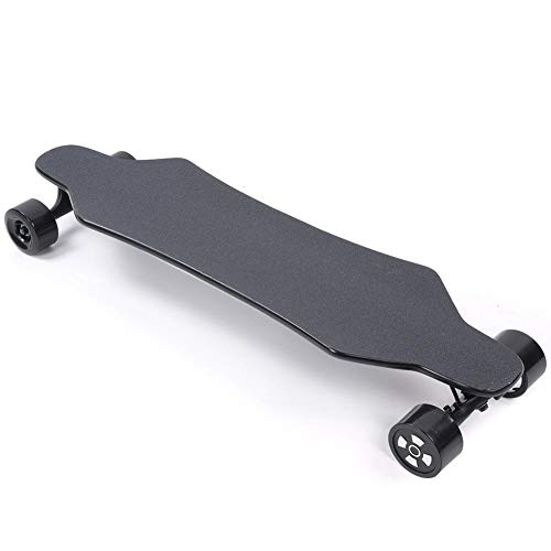Electric Skateboard, 40km/h Remote Control Dual Drive Four-Wheels Kick Scooter 8 Layers Maple Deck High Performance Scooter with 150kg Maximum Load, for Commute, Skateboarding(EU 110~240V)