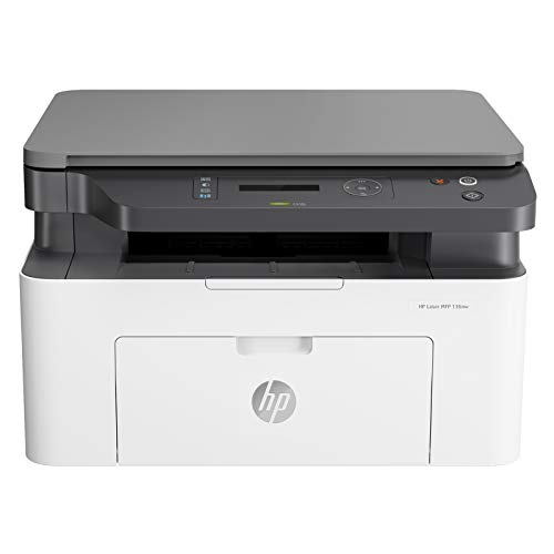 HP Laserjet 136nw WiFi Printer, Print Copy Scan, Compact Design, Reliable and Fast Printing, Network Support