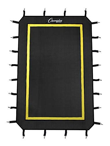 Champion Sports Replacement Target and Springs for LBT43 Lacrosse Rebounder, Black and Yellow, (Model: LBT43RP)