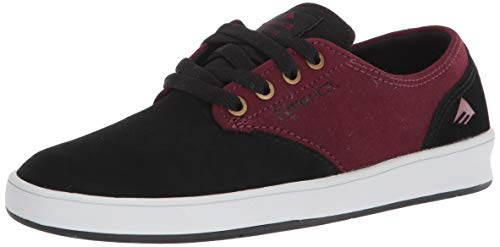 Emerica mens The Romero Laced Low Top Skate Shoe, Blackberry, 11.5 US