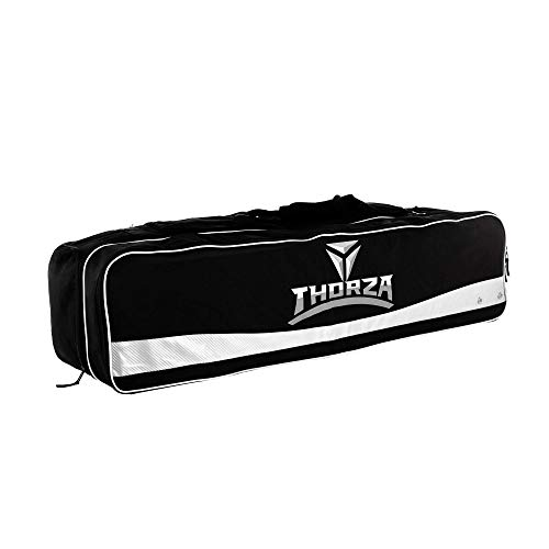 Thorza Lacrosse Equipment Bag (Extra Large) Multi Pocket Storage for Lacrosse Sticks, Balls, Gloves, Cleats, Pads, Goalie Gear, and Coach Supplies ' Portable Travel Storage for Players and Coaches