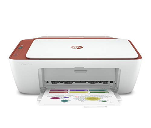 HP Deskjet 2729 WiFi Colour Printer, Scanner and Copier for Home/Small Office, Dual-Band Wi-Fi, Voice Activated Printing (Google Home and Alexa), Easy Set-up Through HP Smart App on Your Mobile