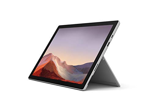 Microsoft Surface Pro 7 Intel Core i5 12.3 inches Touchscreen, 8GB Memory, 128GB Solid State Drive Latest Model Notebook Computer - Platinum, 0.77kg