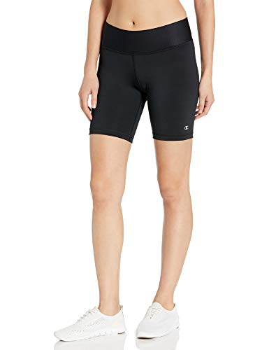 Champion Women's Absolute Bike Short with SmoothTec Waistband, Black, XL