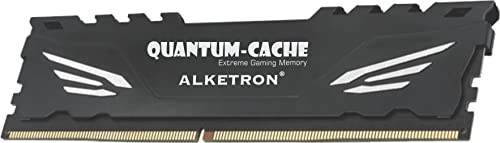 ALKETRON Quantum-Cache (Extreme Gaming Memory) | 4GB-1866MHz-CL10 | DDR3 RAM | Long-DIMM (UDIMM) | PC3-14900 | for Gaming and Desktop PC - with 3 Year Warranty