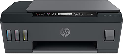 HP Smart Tank 515 All-in-One Wireless Ink Tank Colour Printer, High Capacity Tank (6000 Black and 8000 Colour) with Automatic Ink Sensor