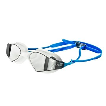 Saeko Blade Mirror Swimming Goggle with Ultra Anti Fog, UV Protection, 100% Phthalates Free for Adult's (Blue)