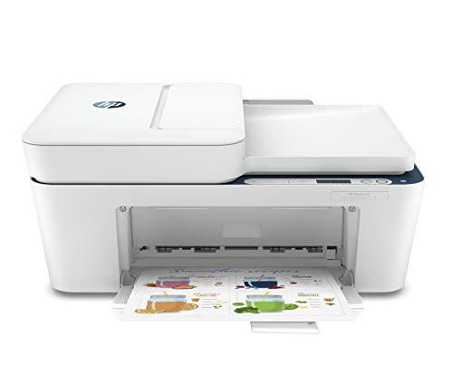 HP Deskjet Ink Advantage 4178 WiFi Colour Printer, Scanner and Copier for Home/Small Office Compact Size, Automatic Document Feeder, Send Mobile fax, Easy Set-up Through HP Smart App on Your Mobile