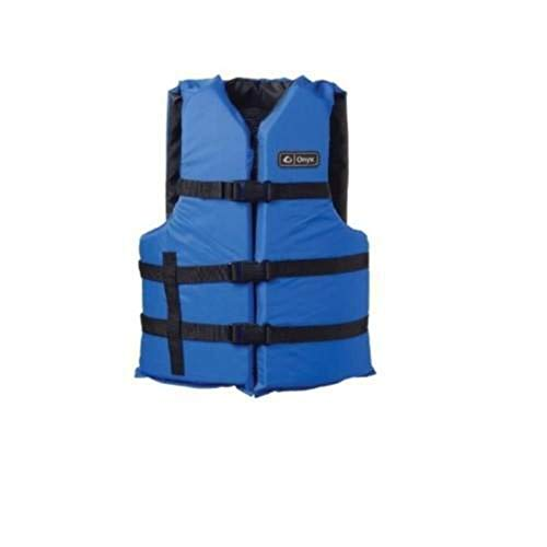 Onyx Absolute Outdoors Universal General Purpose Life Vest Blue (Oversize)