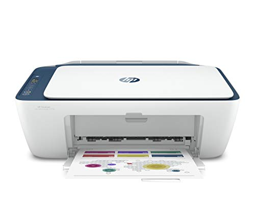 HP Deskjet Ink Advantage 2778 WiFi Colour Printer, Scanner and Copier for Home/Small Office, Dual Band WiFi, Compact Size, Easy Set-Up Through HP Smart App On Your Mobile