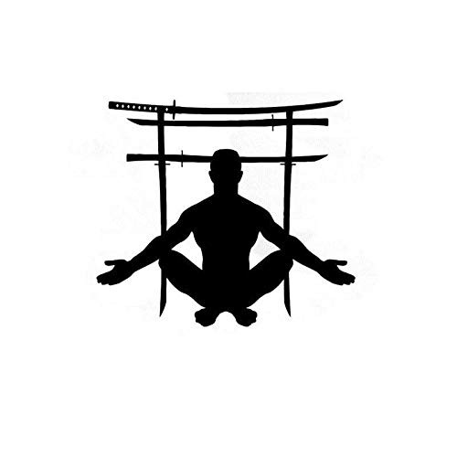 Gadgets Wrap Japanese Swords Gate Wall Decor Martial Arts Wall Sport Wall Decals, AG20-DRP-2611