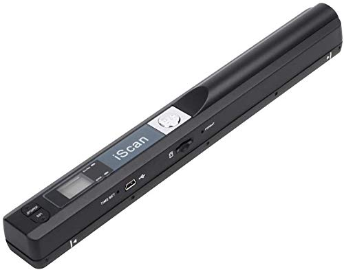 Tobo Portable Document Scanner, 900DPI Hand Held USB Image Scanner A4 Colour Photo Mobile Scanner Handy Scan (JPG/PDF Format, High Speed USB 2.0, Micro Need SD/TF Card But Not Included)