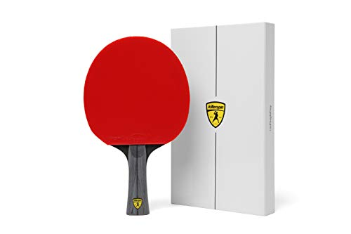 Killerspin JET600 Table Tennis Paddle - Multi-Colour Ping Pong Paddle Designed for Powerful all-around Play wrapped in White Memory Book