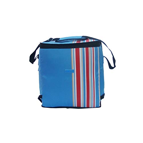 California Innovations 24 Liters Insulated Portable Travel Chiller Cooler Bag (Blue)