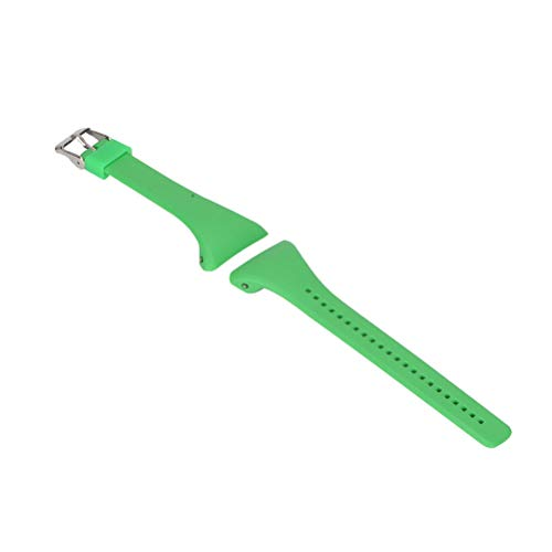 Watch Band Fashion Watchstrap Watch Band Strap Replacement Quick Release Wristband Bracelet Strap Compatible for Polar FT4/ FT7 (Green)
