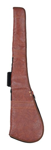 Purwanchal Presents French Leather Body Protective Case for Hockey Butt Guns(Dark Maroon)