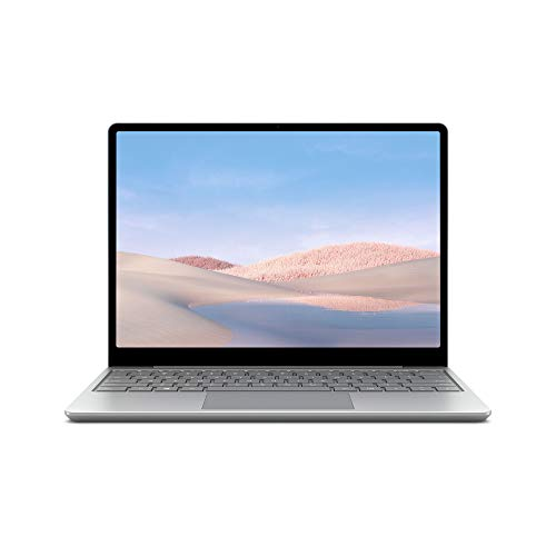Microsoft Surface Laptop Go 10th Gen Intel Core i5-1035G1 12.4' Touchscreen Laptop (8GB/128GB SSD/Windows 10 Home in S Mode/Intel UHD Graphics/Platinum/1.110 kg,25% Off on Microsoft 365), THH-00023