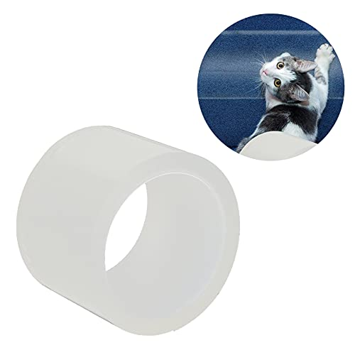 Furniture Protector, Transparent Cat Anti Scratch Training Tape Non‑Toxic Hypoallergenic Widened Design Anti‑Scratch for All Pets for Home(L)