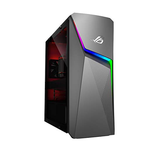 ASUS ROG Strix GL10DH, AMD Ryzen 5-3400G Gaming Desktop (8GB RAM/1TB HDD + 512GB SSD/4GB NVIDIA GeForce GTX 1650 Graphics/with Keyboard & Mouse/Iron Gray/8 Kg), GL10DH-IN025T