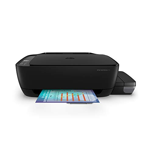 HP Ink Tank 416 WiFi Colour Printer, Scanner and Copier for Home/Office, High Capacity Tank (7500 Black and 8000 Colour),Low Cost per Page(10paise for B/W and 20 Paise for Colour), Borderless Print