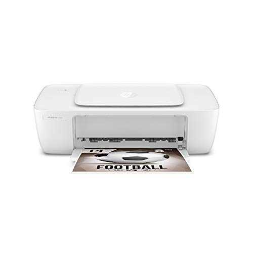 HP Deskjet 1212 Colour Printer for Home Use, Compact Size, Reliable, and Affordable Printing,Easy Set-up Through HP Smart App on Your PC Connected Through USB