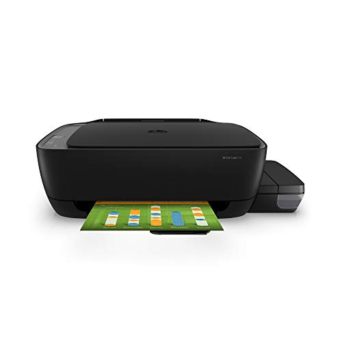 HP Ink Tank 310 Colour Printer, Scanner and Copier for Home/Office, High Capacity Tank (4000 Black and 8000 Colour Pages), Low Cost per Page (10p for B/W and 20p for Colour), Borderless Print