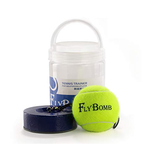 flybomb Weight Heavy Iron Base Portable Tennis Training Tool Exercise 1 Kg (Beige)