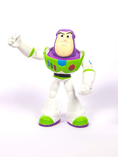 Mattel Buzz Lightyear Toy Story 4 Bendable Action Figure (7-inches) (GLG55)