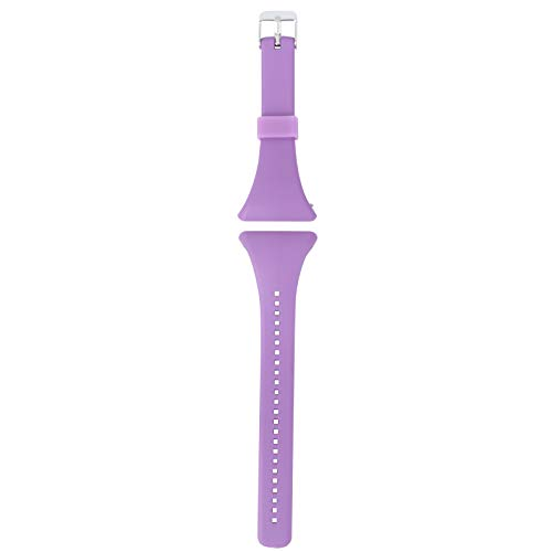 Watch Band Fashion Watchstrap Watch Band Strap Replacement Quick Release Wristband Bracelet Strap Compatible for Polar FT4/ FT7 (Purple)