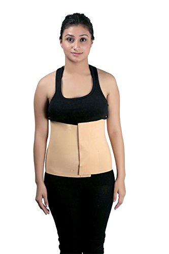 Abdominal Support Belt/Post Operative Support Belt/Post Pregnancy Support Belt (10 inch Wide) -X-Large (Waist - 42-44 inches)