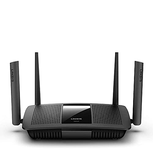 (Renewed) Linksys Max-Stream EA8100 Dual Band AC2600 MU-MIMO Gigabit 4X4 WiFi 5 Fast Router, DFS Band Certified Router,Enhance Speed up to 2.6 Gbps and Coverage up to 1,500 sq ft, Parental Controls, 30+Devices