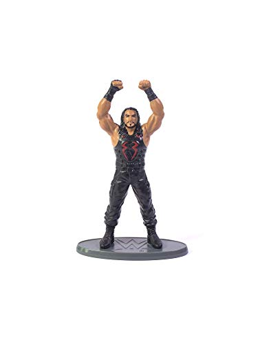 Mattel WWE Black and Brown Superstar Roman Reigns Action Figure ( 3 Inch), Black & Brown, XX-Small