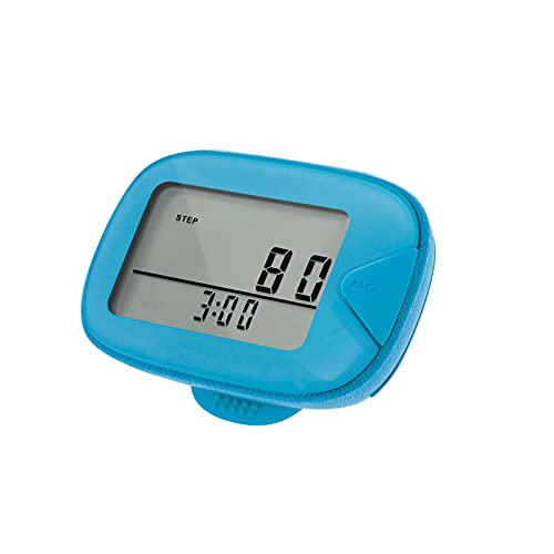 CR-873 LCD Walking Pedometer Multi-Functional Step Counter with Clip Step Distance Calorie for Fitness Walking Step Gym Calorie Outdoor Sports