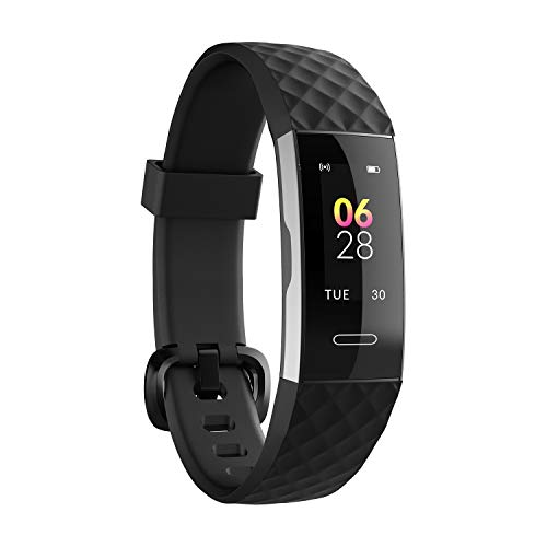 Noise ColorFit 2-Smart Fitness Band with Colored Display,Activity Tracker for Men and Women with Steps Counter,Heart Rate Sensor,Calories Burnt Count,Menstrual Cycle Tracking for Women(Midnight Black)