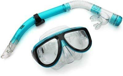 Jumix Professional Diving Masks Scuba Goggle Half Dry Silicone Snorkel Tube Set Men Women Diving Swimming Water Sports Equipment (Multi - Color)