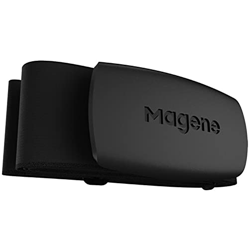 Magene H64 Heart Rate Monitor Chest Strap Fitness Tracker IP67 WaterproofSupport Bluetooth 4.0 and ANT+, iPhone & Android Compatible