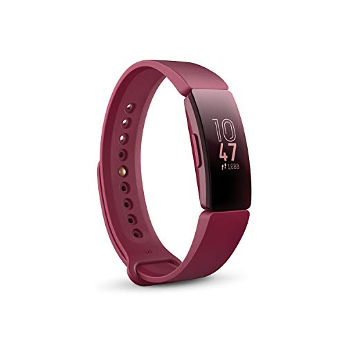 Fitbit Inspire Health and Fitness Tracker (Sangria)
