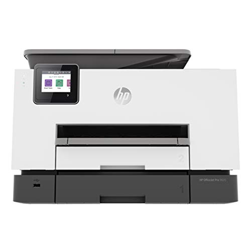 HP OfficeJet Pro 9020 All-in-One Wireless Smart Colour Printer with Auto-Duplex, ADF with Voice-Activated Printing (Compatible with Alexa & Google Assistant)
