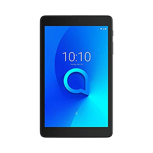 (Renewed) Alcatel 3T8 Tablet with Google Voice Assistant 2020 (8inch, 2GB+32GB, Wi-Fi + 4G Calling, Android 10, Type C Charging), Black