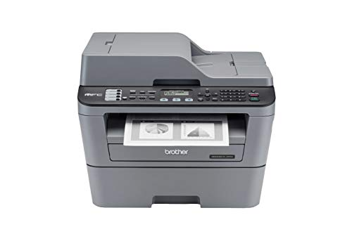 Brother MFC L2701D Multi-Function Monochrome Laser Printer with Auto Duplex Printing