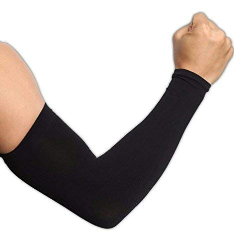 Veteran Uv-Protection Arm Sleeves, Hand Socks for Men and Women(Combo of 2 Pair)(Unisex) Used for Driving, Hiking, Sports, Biking, Cycling, Sunburn, Dust & Pollution Protection