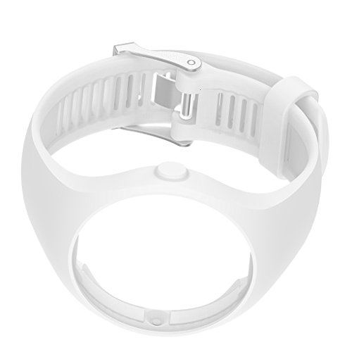 KAWN® Silicone Gel Wrist Band Replacement Strap for Polar M200 Smart Watch White