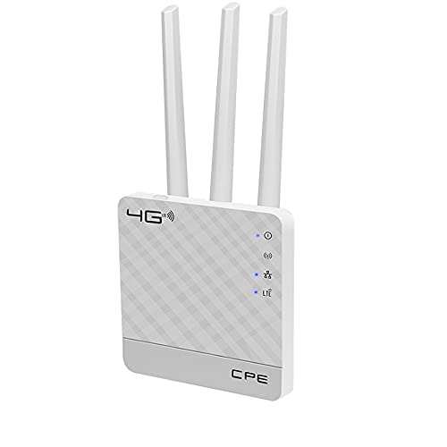TEG   4G Wifi Router with SIM Card Slot   Support all SIM Cards  Support all CCTV, DVR, NVR, Smart TV, Laptop, Mobile, Dongle   Speed Upto 150 Mbps (JIO, vodafone, Idea, Airtel and More hotspots)   (4G Router - CPE)